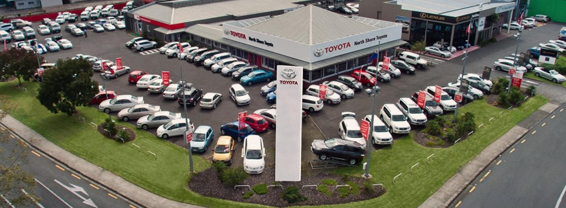 North Shore Toyota Header